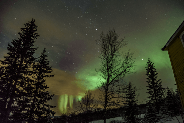 Northern Lights - Norway (Storteinnes), inside the Arctic Cirle