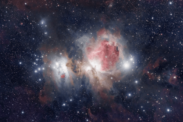 Orion Nebula M42 (PRINT & HIRES AVAILABLE)  Hires version 57megapixel https://easyzoom.com/imageaccess/37ab0616e3fb4150b45cde58e7ebc531   Skywatcher HEQ5 autoguided - Skywatcher Esprit 100 F/5.5 Triplet Super APO (550mm) - SW 1x Doublet Field Flattener - Canon 6D mod
