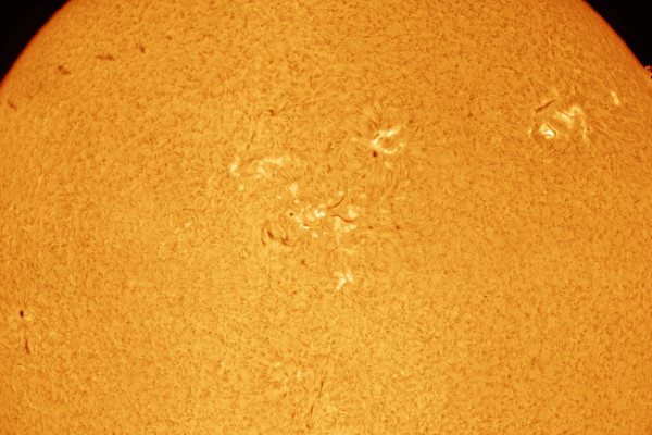 Sun: mosaic in Hydrogen Alpha (pre Mercury transit) (PRINT AVAILABLE)  Skywatcher HEQ5 - Skywatcher Esprit 100 F/5.5 Triplet Super APO (550mm) - Daystar Quark Chromosphere HA - ASI174MM-COOL