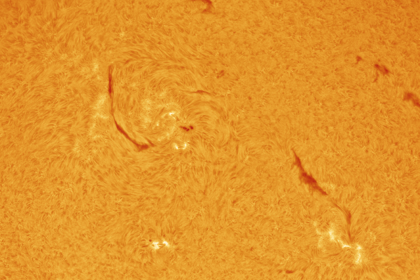 SUN - Mercury transit mosaic in Hydrogen Alpha (PRINT AVAILABLE old)  Skywatcher HEQ5 - Skywatcher Esprit 100 F/5.5 Triplet Super APO (550mm) - Daystar Quark Chromosphere HA - ASI174MM-COOL